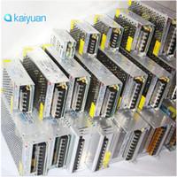 adaptateur secteur 24v 1a achat en gros de-LED bande adaptateur secteur AC 110V 220V à DC 24V 1A 2A 3A 5A 8.5A 10A 15A Adaptateur d'alimentation transformateur CE CE ROHS