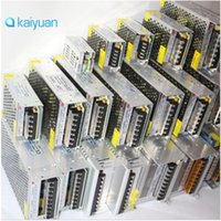 Wholesale Adapter Dc 24v 1a - led strip Power adapter AC 110V 220V To DC 24V 1A 2A 3A 5A 8.5A 10A 15A LED Power Supply Adapter Transformer CE ROHS