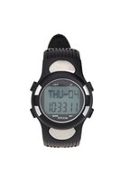 Wholesale Wholesale Exercise Watches - Wholesale- JHO-3ATM Water-resistant Sports Pulse Heart Rate Monitor Fitness Exercise Watch Pedometer Calorie Stopwatch Outdoor Cycling