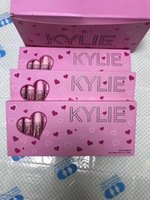 Wholesale Makeup Lipstick Palette - New Makeup Kylie Cosmetics Birthday Collection Palette Matte liquid Lipstick 12 color set Kylie jenner Lip Gloss