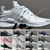 Wholesale Fabric Equipment - Wholedale Equipment EQT Support ADV Boost Sock Primeknit Zebra White Black mens running shoes for Womens Mens eqt shoes for sale Eur 36-45