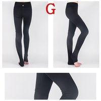 Wholesale Wholesale Women Outfit - High stretch Lulu Yoga pants Leggings for women Mesh splicing design running fitness gym sports Exercise wear Yoga Outfits 20 Colors