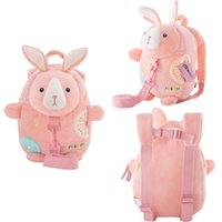 Wholesale Kids Backpack For Walking - Metoo Plush Cartoon Backpacks with Walk Wings Soft Bunny Backpacks for Kids Kindergarten Gifts for Children Backpack 24*28 cm