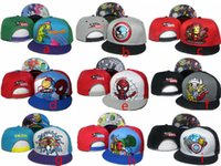 Wholesale Snap Backs For Girls - NEW 2017 Tokidoki Caps New Style TKDK Adjustable Hat Snap Back Hats Cheap Hip Hop Cap Fashion Snapback Hats for Girls and Boys Top Hats