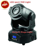 Wholesale Luminus Led - 2016 Hot sell Best 2pcs 75W Led Moving Head Spot USA Luminus LED Moving Head Light DMX512,3 prisms  gobos Stage Lighting