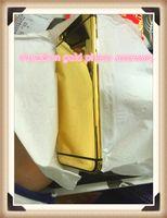 edição do ouro do iphone 24k venda por atacado-24k de ouro chapeamento de volta habitação tampa da caixa da pele da bateria para o iphone 6g 6 s plus luxo edição limitada 24kt edition moldura painel frontal