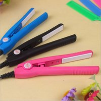 Electric Mini Hair Straightener Pequena Cute Eff Hair Styling Ferramenta Endireitando Ferros Digital Temperature Controller Digital Professional