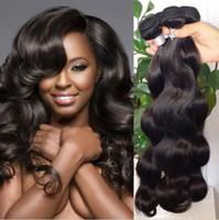 малайзийские распущенные наращивания волос оптовых-8а необработанные бразильский кудрявый прямой тела свободные глубокие волны вьющиеся волосы уток человеческих волос перуанский Индийский малайзийский наращивание волос Dyeable