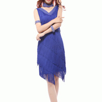 Wholesale Dancer For Women - New 2017 Women Girls Sexy Fringes long Skirt Latin Dance Dresses Suits Ballroom Tango Rumba Latin Dresses Clothings For Dancer