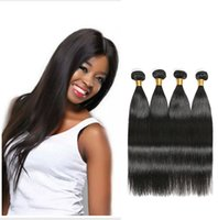 100% Virgin Human Hair Weaves Bundles brasileiras peruanas do Malásia Indiano cambojano russo Eurasian Filipino Straight Remy Hair Extensions