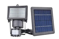 IP65 outside post lighting - Outdoor Solar LED Reflector Lights Garden LEDs with PIR Motion Sensor Floodlights Spotlights Post Fountain Outside Wall Lamp