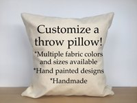 Wholesale Custom Cushion Cover Print Custom Pillow Cover DIY Customize Pillow Case Cushion Cover Custom oem Logo