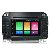 carregador de carro celular s5 venda por atacado-4G RAM 8-Núcleos Anroid 8.0 / 9.0 Sistema GPS Automático Carro DVD Para BENZ S-Classa W220 (S280 S320 S430 S500 S5) Classe CL (CL600 CL55) Rádio RDS WIFI 4G
