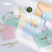 Wholesale Stationery Gift Pack - 6 pcs pack Beautiful Bouquet Flower Letter Paper with Simple Envelope Letter Pad Gift Stationery School Office Supply