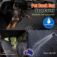 Wholesale Dog Cat Car Seat Cover - Waterproof Premium Pet Cat Dog Back Car Seat Cover Hammock NonSlip Mat Protector