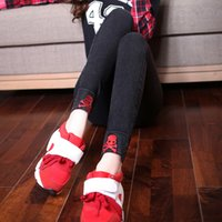 Wholesale New Fashion Plus Size Women s Clothing XL Black Pencil Pants Ladies High Waist Red Skull Embroidery Elastic Trousers Jea