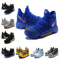 Wholesale Kevin Durant Low Tops - Top Quality KD 10 Finals MVP Christmas shoes hot sales Kevin Durant Kevin Durant Basketball shoes store US7-US12