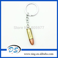 Wholesale Bullet Keychains - Cross Fire bullet alloy Keychain Anime Game Movie Alloy cross fire keychain Free Shipping