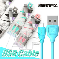 Wholesale Original Blackberry Chargers - Remax 1M 3FT USB Micro Charger Cable V8 Micro Not Original Charge Data Cable For Samsung Galaxy S7 Edge