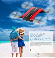 Wholesale jxd523 Foldable Selfie Drone Dron Tracker Phone Control Mini Drones with Wifi FPV HD Camera Pocket Helicopter JXD