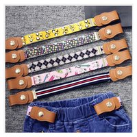 Wholesale Girls Suspender Pants - Baby Belt For Kid Boutique Fabric 4th Of July Mix Style Pants Suspenders For School Baby Girl Boys