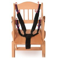 Wholesale Baby Chair Harness - Universal Baby 5 Point Harness Safe Belt Seat Belts For Stroller High Chair Pram Buggy Children Kid Pushchair 360 Rotating Hook