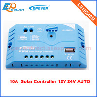 Wholesale Small Solar Panel System - solar panel Regulator Controller 10a 10amp for small solar system PWM LS1024EU