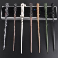 LED Light Up Harry Potter Sirius Magic Wand 8 Funções Hermione Voldermort Magic Wands Halloween Brinquedo Cosplay Novidade