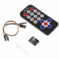 Wholesale Wireless Remote Control Receiver Kit - Wholesale- in Stock! Infrared IR Wireless Remote Control Receiver Module Kit for Arduino High quality
