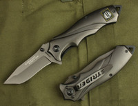 Wholesale Strider 313 - Wholesales Strider 313 Titanium Tactical Folding Knife 5Cr13 56HRC Outdoor Camping Hiking Hunting Survival Pocket Knife Army Military EDC