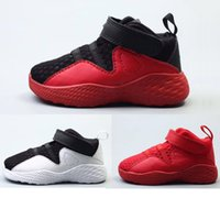 Wholesale Toddler Winter Sale - 22-35 kids sneakers retro 23 basketball shoes 2017 for boys girls Sports Shoes Toddlers Birthday Gift sale high top quality US 5C-3Y