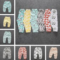 Wholesale Infant Leggings Toddler Tights - Baby Pants Baby Clothes Girls Boys Leggings PP Pants Trousers Cotton Infant Toddler Baby Kids Clothing Children's Leggings Tights 093