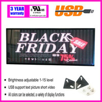 Wholesale Rolling Billboards - Full color LED rolling information display electronic billboard perfect solution