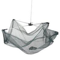 Wholesale Portable Networking - Portable 60*60cm Folding Fishing Net Nylon Network Shrimp Fish Net Casting Net Fishing Cage Outdoor Fishnet