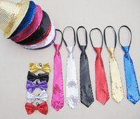 Vente en gros - 2015 nouvelle mode Fancy dress party scène performance jazziness Shining hat bow tie