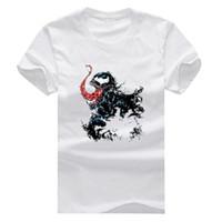 Wholesale Anti Venom - Venom New Fashion Man T-Shirt Cotton O Neck Mens Short Sleeve Mens tshirt Male Tops Tees Wholesale