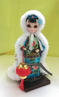 Wholesale Traditional Folk Crafts - The Legend of Zhen Huan 65yz7b costume dolls China ring on plum Zhen folk traditional art crafts decoration