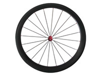 New Dimple Finish surface carbone wheelset 25mm Large 50mm carburateur routier vélo roues Prix usine R36 Hub