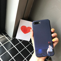 Wholesale Mobile Phone Animations - For Iphone 7 Phone Case Japanese Animation Illustrations Cartoon Cute PC Full Package Hard Mobile Phone Cases For Iphone 6s 7 6 Plus