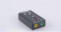 kanalbänder großhandel-USB7.1 unabhängige Soundkarte K Song externe Computer Notebook hochwertige Gürtel Mix 2 Kanal Soundkarte Großhandel
