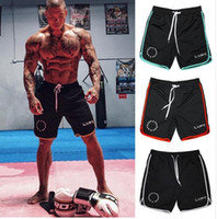 Wholesale Cool Relaxing - Mens summer style gyms fitness bodybuilding shorts Sporting Fashion casual quick dry Breathable Cool Brand short Trousers