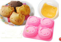 Wholesale Chocolate Candy Wholesale Prices - Lowest Price facial expression Print Bakeware Silicone Mould Chocolate Cookie Candy Soap Resin Wax Mold Cake Decorating Tools