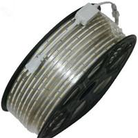 smd flex licht großhandel-100m 110V 220V LED-Streifen SMD 5050 LED-Seil Licht IP67 Flex LED-Streifen Lichter Outdoor-Beleuchtung String Disco Bar Pub Weihnachtsfeier
