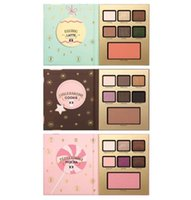 New faced Christmas Limited Edition Paleta de EyeShadow Grand Hotel Café 3 tipo MOCHA LATTE COOKIE Ojos Brand Maquillaje DHL ship