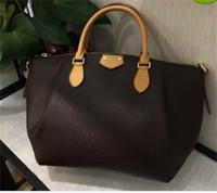 Wholesale Dumpling Tote Bags - 2017 new genuine leather Fashion Women Shoulder bag Luxury Womens Tote Fashion Lady Messenger bag genuine leather Dumpling handbag