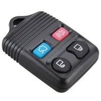 Wholesale ford keyless fob - Black 4 Buttons Keyless Entry Replacement Key Remote Fob Shell Case for Ford CIA_40S