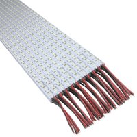 Wholesale Display Rows - 4014 SMD Double Row 144LED DC 12V Hard Led Bar Light Non-waterproof for Showcase Display Cabinet 200PCS Free Shipping