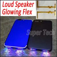 bar lambaları toptan satış-IPhone7 için Akıllı Telefon Müzik Lambası Parlayan Flex Telefonunuzu Yapın Hoparlör Hoparlör iPhone 7 için Shinning DIY Parlayan Flex