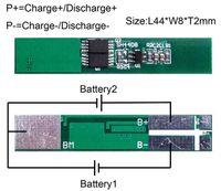 Wholesale Circuits Board - Wholesale- 10PCS Lot Protection Circuit Module 2S 5A BMS PCM PCB Battery Protection Board 7.4V Li-ion lipo Battery Cell Pack Free shipping