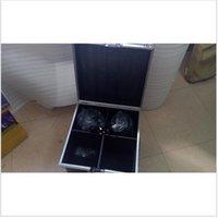 Wholesale Wholesale Flight Cases - 4pcs Lot With Flight Case 150W LED Beam Moving Head Light dj equipment 12x12W RGBW(CMY) Quad